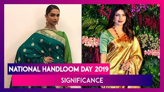 National Handloom Day 2019: Deepika, Aishwarya, Sonam Show How To Nail Traditional Weaves In Style