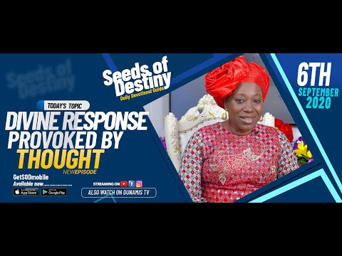 Dr Becky Paul-Enenche - SEEDS OF DESTINY - SUNDAY SEPTEMBER 6, 2020