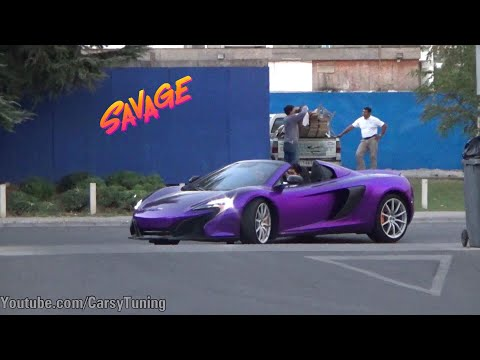 Supercars in Santiago Chile Vol 51 - LFA, 918 Weissach, Vantage GT3 and more!!