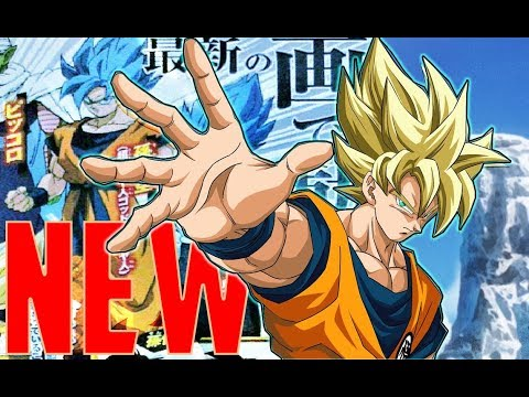 FIRST Look! Super Saiyan Blue VEGETA and GOKU: Dragon Ball Super Movie 2018 Exclusive