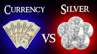 Currency VS Silver - Gold and Silver as a Hedge Against Inflation!