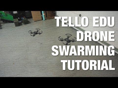 Tello EDU Drone Swarming Tutorial with Packet Sender and Python - UC_LDtFt-RADAdI8zIW_ecbg