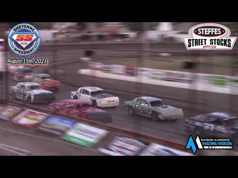 Sheyenne Speedway WISSOTA Street Stock A-Main (8/15/21) - dirt track racing video image