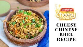 Cheesy Chinese Bhel Recipe | Fusion Bhel Recipe - Cheesy Kitchen Recipes By Archana's Kitchen
