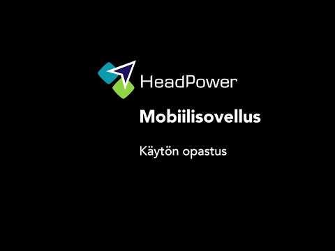 HeadPower Mobiiliappi - käytön opastusvideo