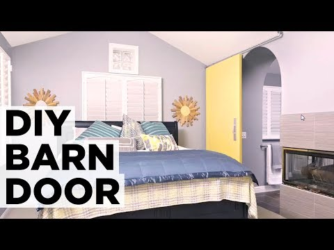How to Install a Sliding Barn Door - HGTV