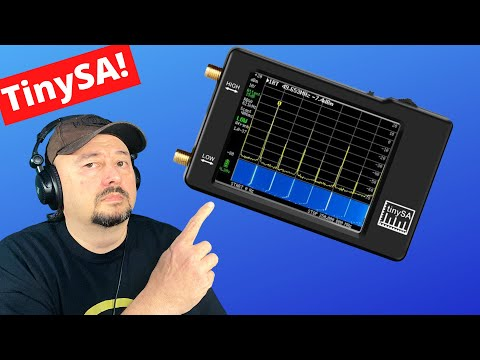 TinySA Calibration and Firmware Update