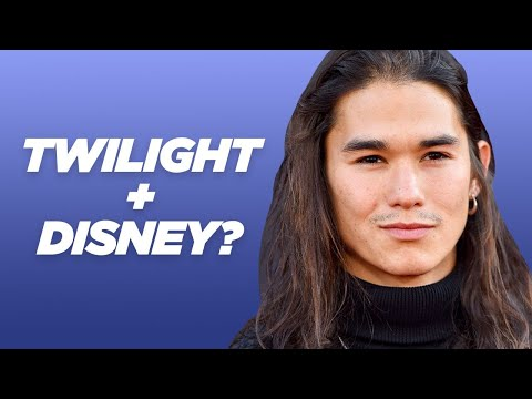 """""""Let Him Go"""" Star Booboo Stewart Finds Out Which Twilight/Disney Character Combo He is"""