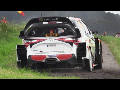 Toyota Yaris WRC Tribute – 10 Minutes of Pure Sounds at Rallye Deutschland 2017!