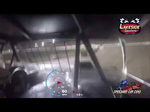 #7G Gabriel Hodges - USRA B Mod - 5-14-2021 Lakeside Speedway - In Car Camera - dirt track racing video image