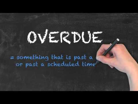 Overdo vs Overdue - English Grammar - Teaching Tips