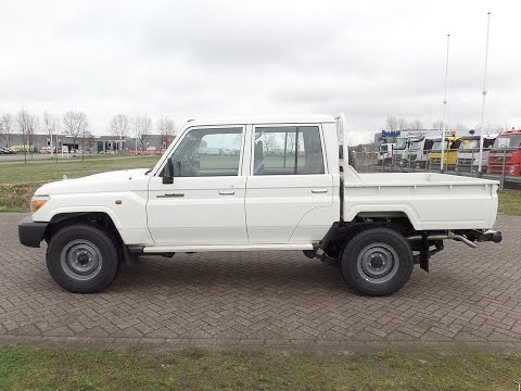 to3908 - Toyota Land Cruiser 4x4 with double cabin - NEW