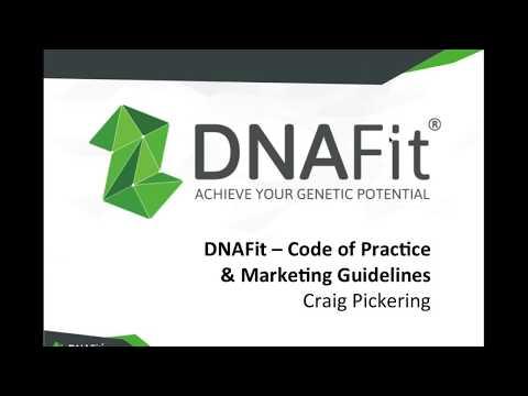 DNAFit Code of Practice