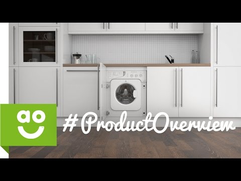 Indesit IWDE126 Integrated Washer Dryer - AO.com Review