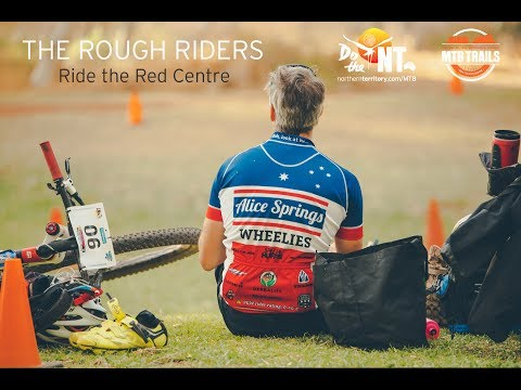 Ride the Red Centre: The Rough Riders - Mountain Biking in Alice Springs