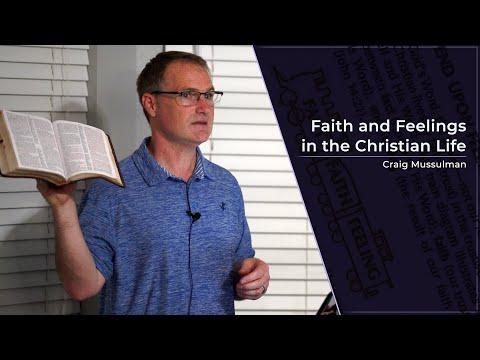 Faith and Feelings in the Christian Life - Craig Mussulman