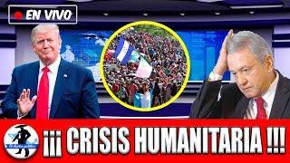 USA Esta Obligando a México a Ser 3er País Seguro Y Provocar Crisis Humanitaria;Ebrad Debe Actuar