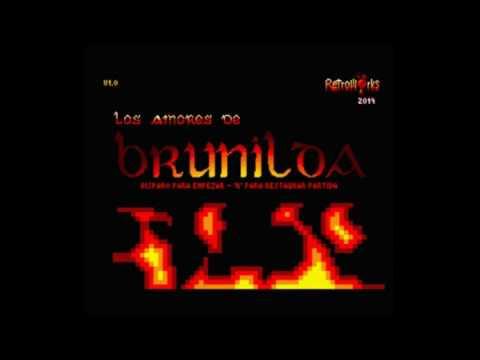 Los Amores de Brunilda (Retroworks/Bitvision) MSX 2
