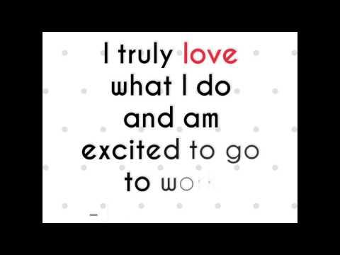 I Love What I Do - Joyce