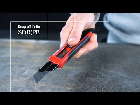 Hultafors - Brytbladskniv med böjd fena - SFRPB 18A/W & SFPB 18A/W