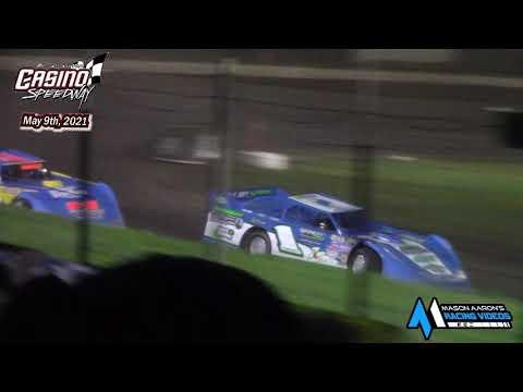 Casino Speedway WISSOTA Late Model A-Main (5/9/21) - dirt track racing video image