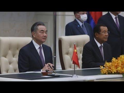 China y Camboya firman un tratado de libre comercio