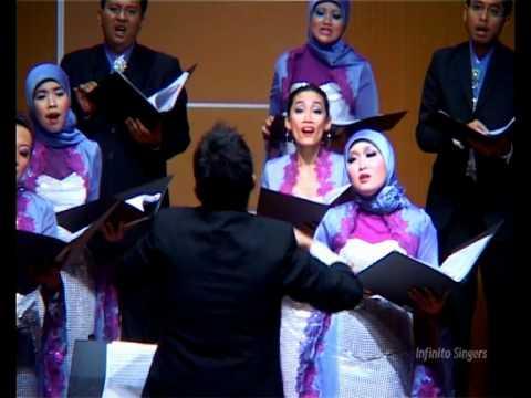 Infinito Singers of Indonesia sing Bituing Walang Ningning