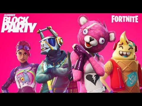 Fortnite Summer Block Party Day 2: Celebrity Pro-Am - IGN Live - UCKy1dAqELo0zrOtPkf0eTMw