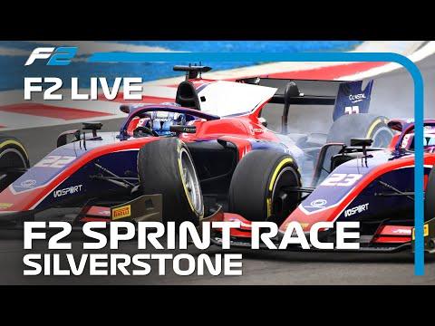 LIVE: Formula 2 Sprint Race! 2020 British Grand Prix
