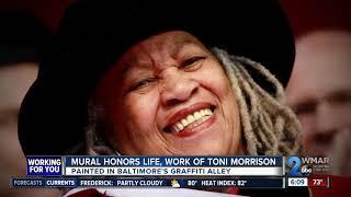 Mural honors life, work of Toni Morrison