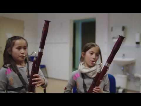 Fagott er et instrument nesten ingen kan spille lenger, men i Rælingen skolekorps snur de trenden