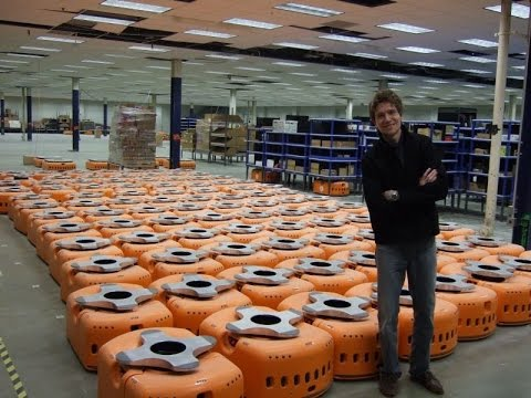 Amazon Warehouse Robots : Mind Blowing Video - UCEs9FPCstSmi28T5Ej_aUSQ