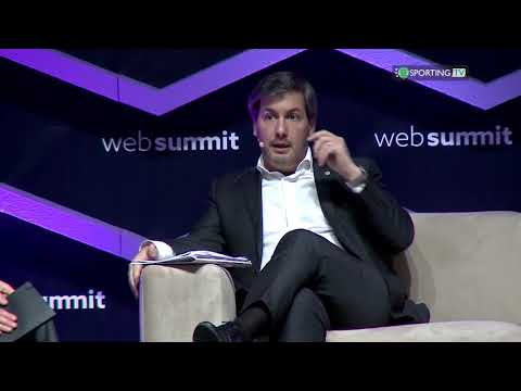 Bruno de Carvalho na Web Summit 2017