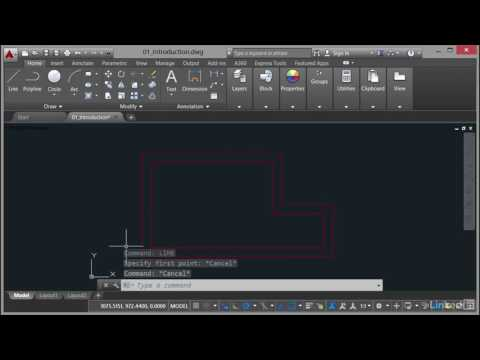 AutoCAD: Using the Command Line | The AutoCAD command line