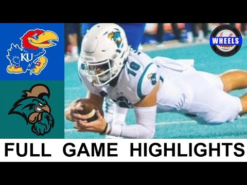 #17 Coastal Carolina vs Kansas Highlights   College Football Week 2   2021 College Football