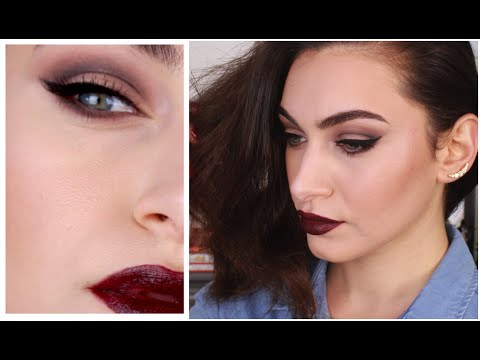 Vampy Rihanna Cool-toned Slight Cut-Crease Makeup | RubyGolani - UCKVNkgvxSqf_aIysPmNi5sQ