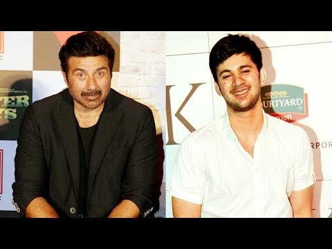Sunny Deol TALKS About Son Karan Deol's Debut For The First Time