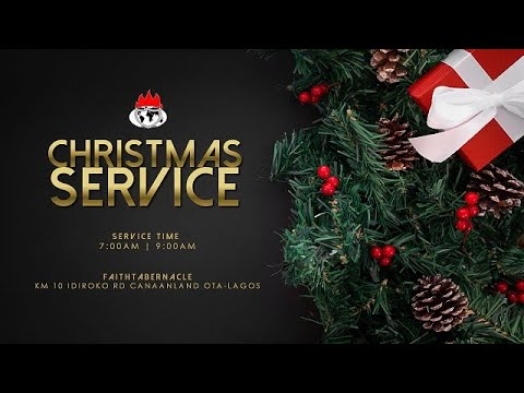 DOMI STREAM : CHRISTMAS SERVICE  25, DEC. 2020  FAITH TABERNACLE OTA