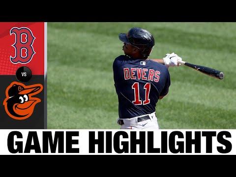 Red Sox vs. Orioles Game Highlights (4/8/21)   MLB Highlights