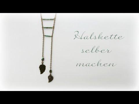 Halskette selber machen * DIY * Necklace [eng sub]