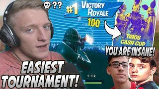 Tfue Shocks EVERYONE After Playing OUT Of His MIND & Almost WINNING The Trio Finals! (Sway & Clix)