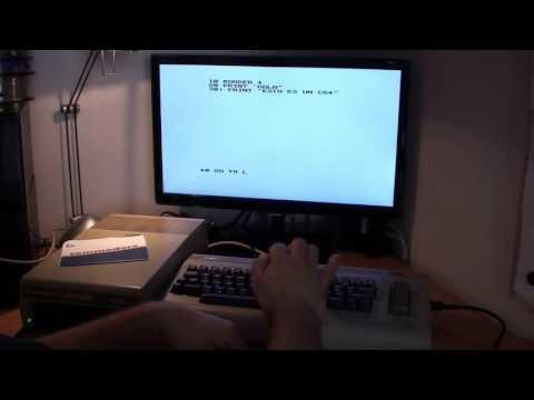 Emulación de un Spectrum 48 con un Commodore 64. ¡Real!