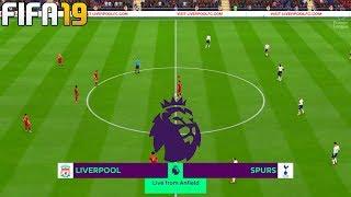 FIFA 19 | Liverpool vs Tottenham Hotspur - Premier League - Full Match & Gameplay