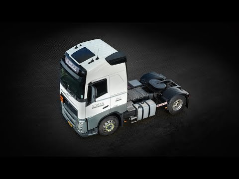 Volvo Trucks - How to cut a massive 278 kilos from a Volvo FH