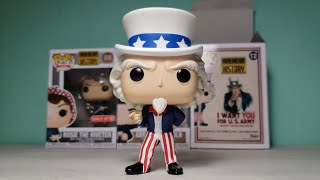4K Funko Pop Icons American History #12 Uncle Sam Target Exclusive Unpacking! Tickets To Toy Time!