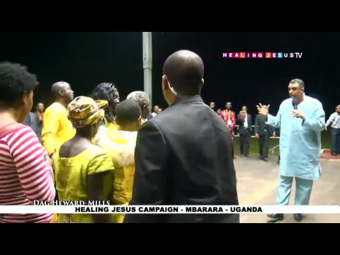 WATCH THE HEALING JESUS CAMPAIGN, LIVE FROM MBARARA - UGANDA. DAY 1.