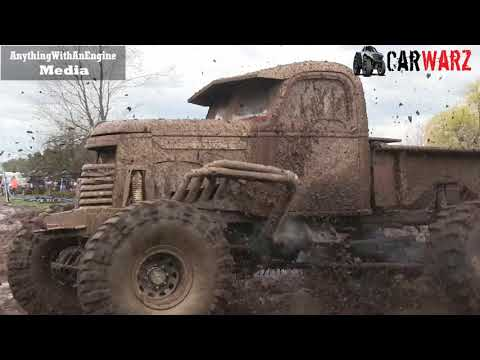 Old Truck Going All Out Mudding At Country Boys Spring Mud Bog 2019