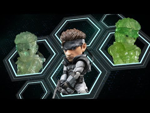Win a First 4 Figures Metal Gear Solid � Solid Snake SD PVC Statue Giveaway Image
