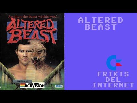 Altered Beast (c64) - Walkthrough comentado (RTA)