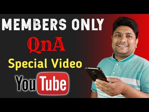 Members Only QnA | Special Video 😃